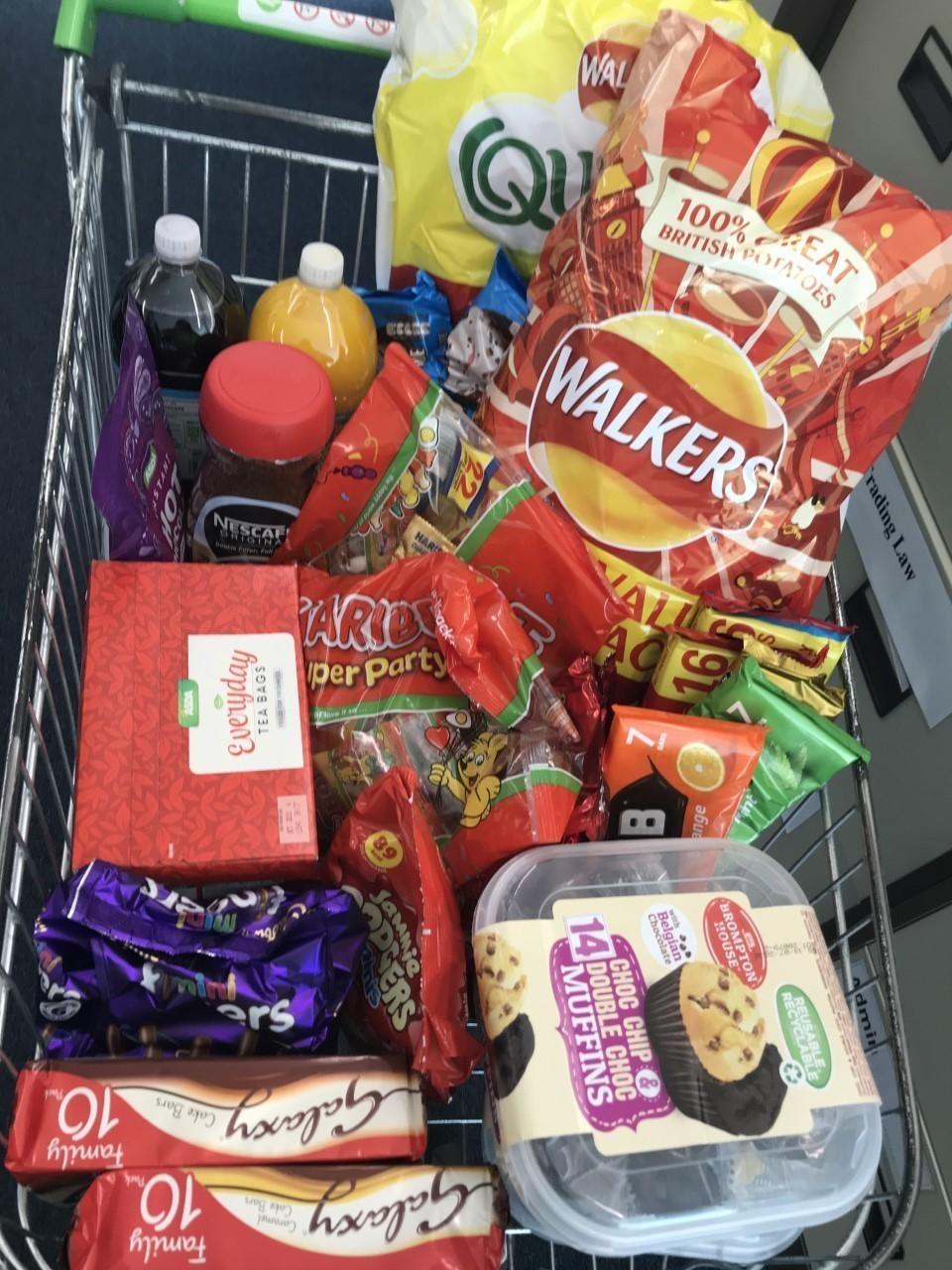 Donation to NHS Direct | Asda Swansea