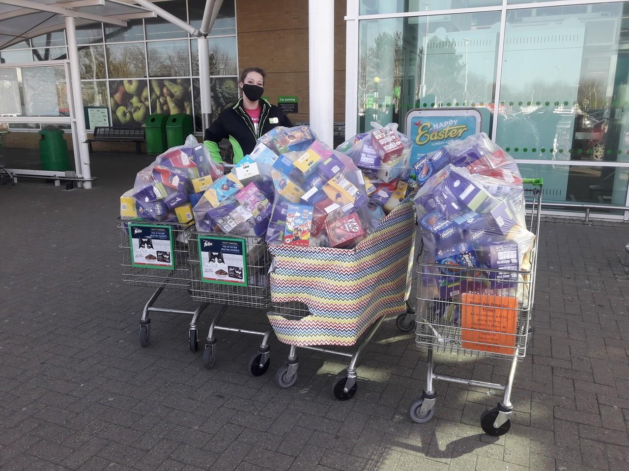 Easter egg donations!   Asda Ashford