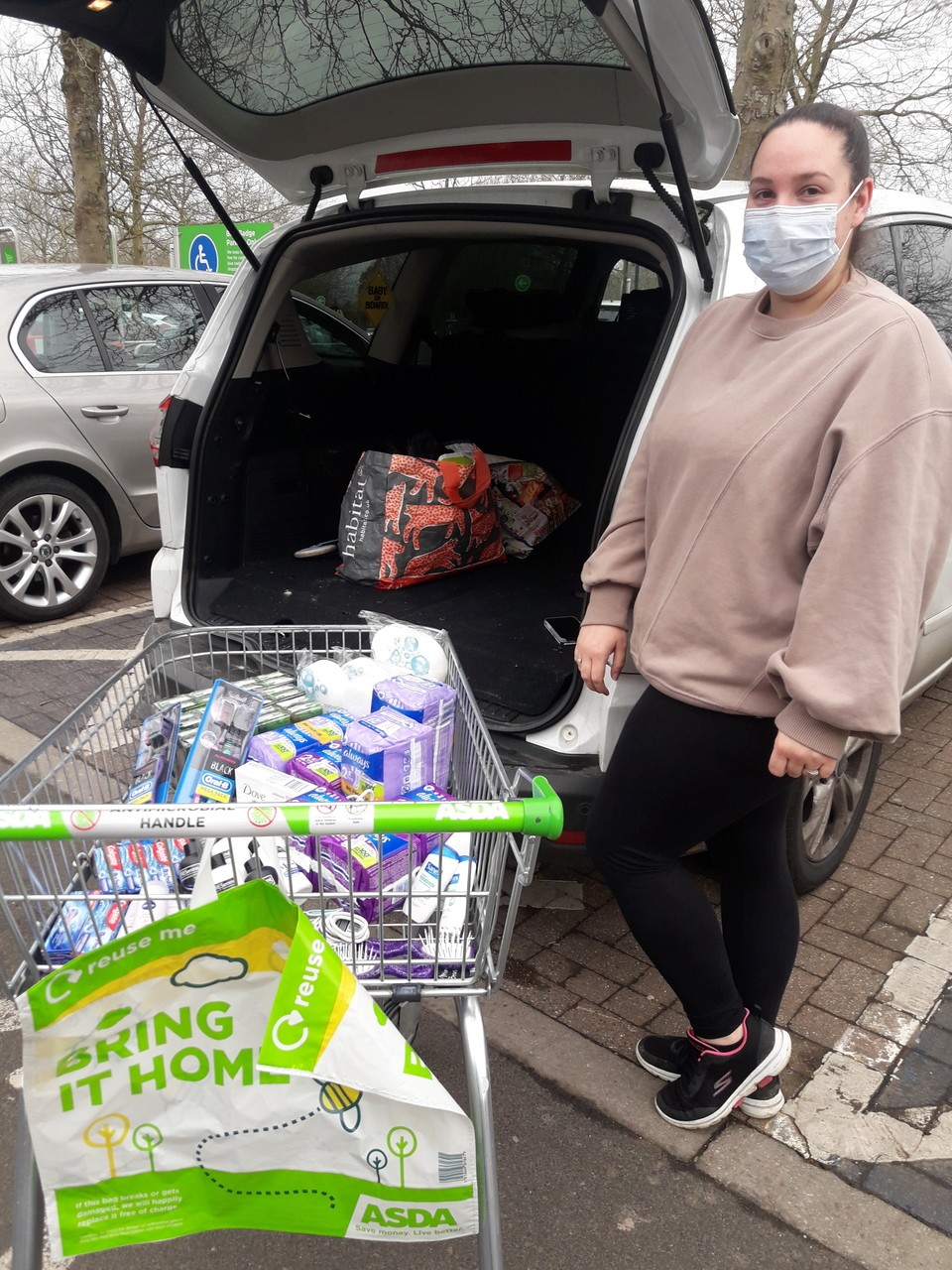 Donation to Cradle charity | Asda Kingshill