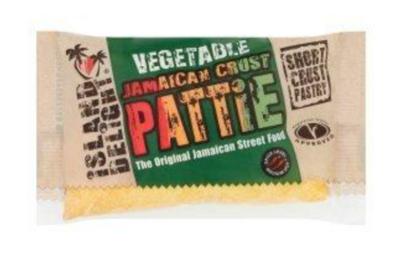 Island Delight Vegetable Shortcrust Patties 140g
