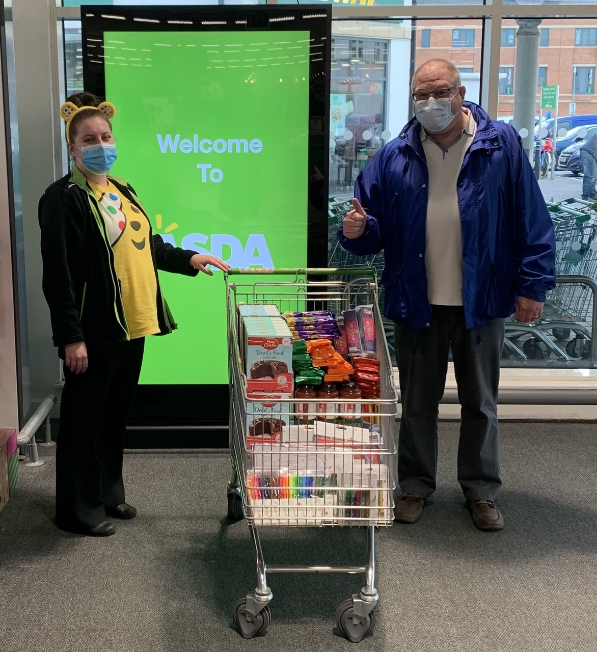 Donation to Reach Learning Disability | Asda Newark