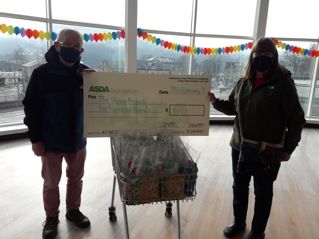 Shine Project grant | Asda Rawtenstall