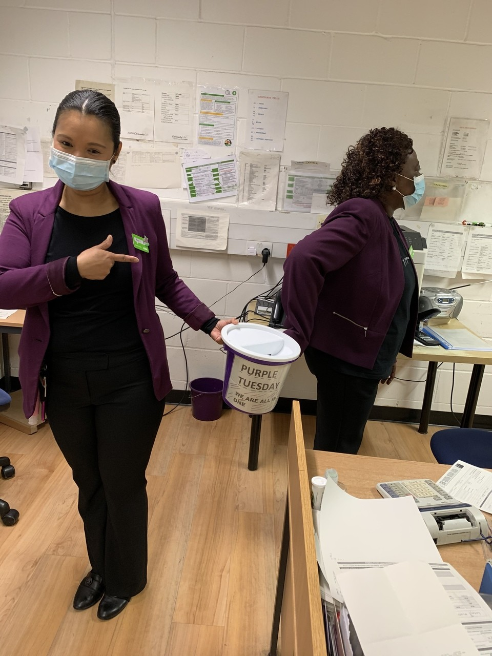 Feltham Purple Tuesday | Asda Feltham