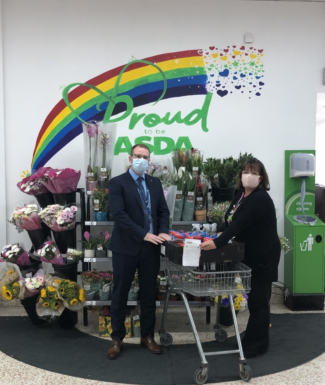 St Colmcilles Primary donation | Asda Downpatrick