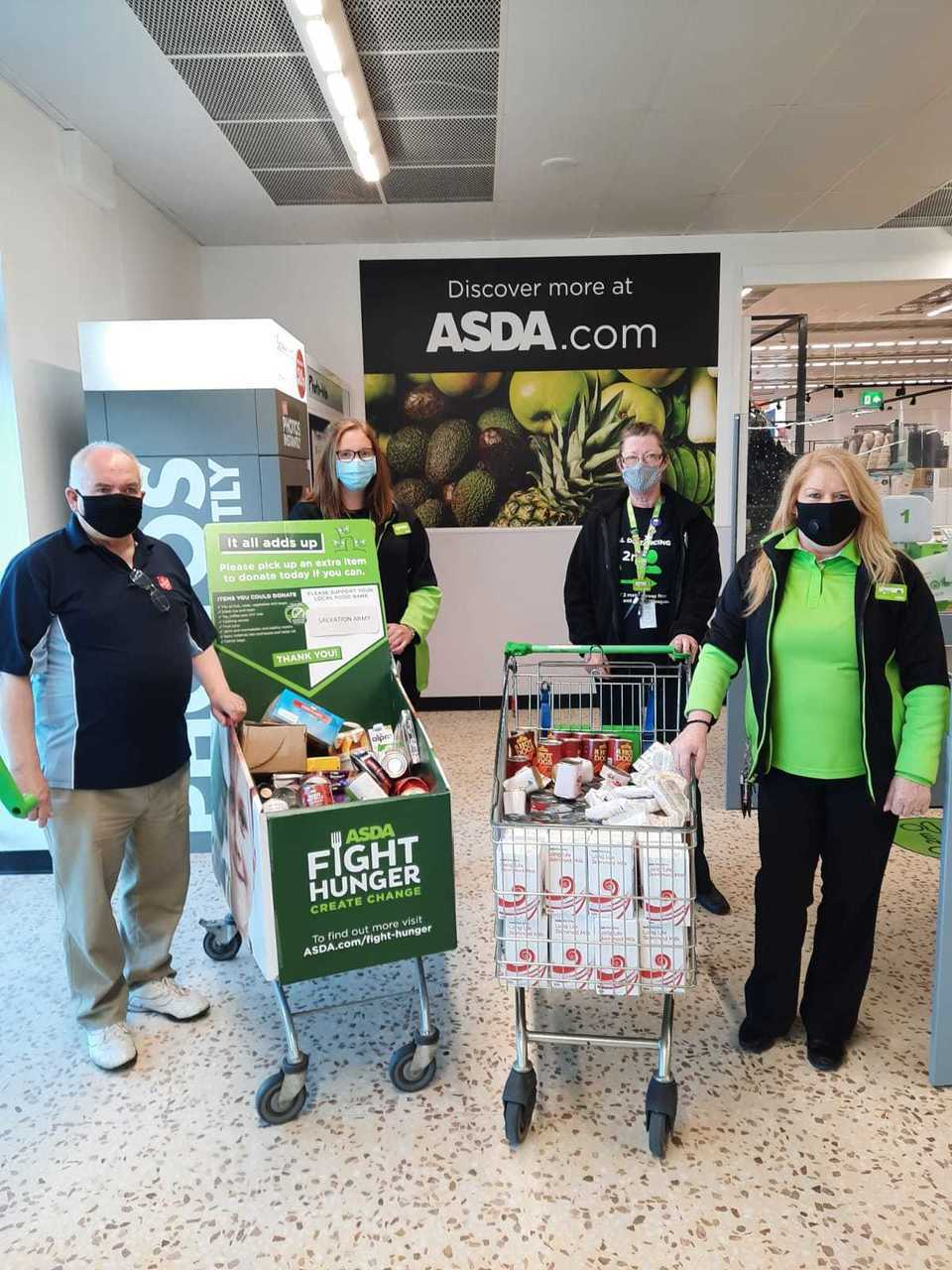 Foodbank donations | Asda Peterhead