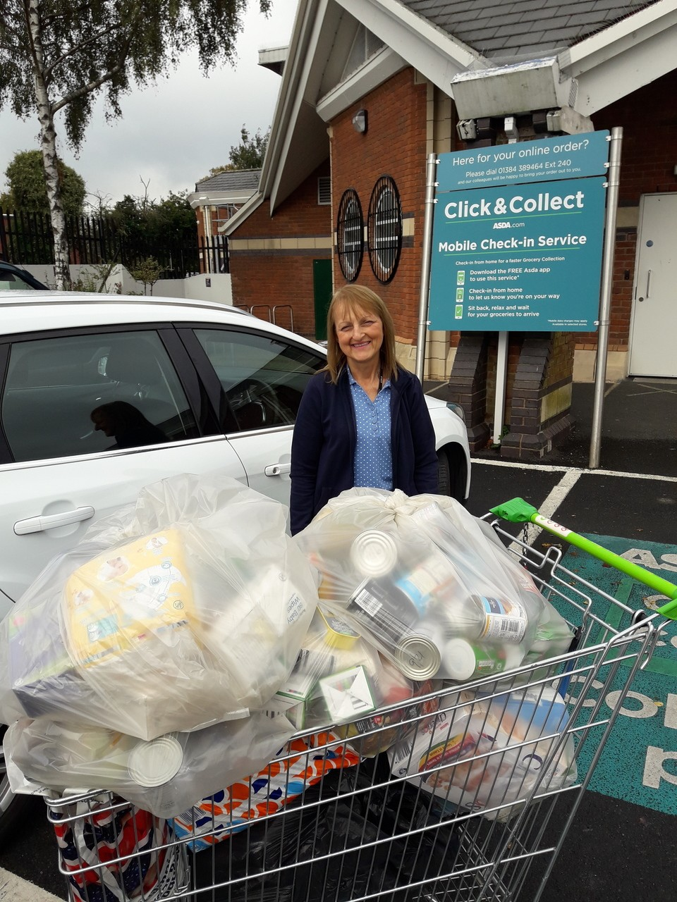 Fight Hunger donations from customers | Asda Sedgley