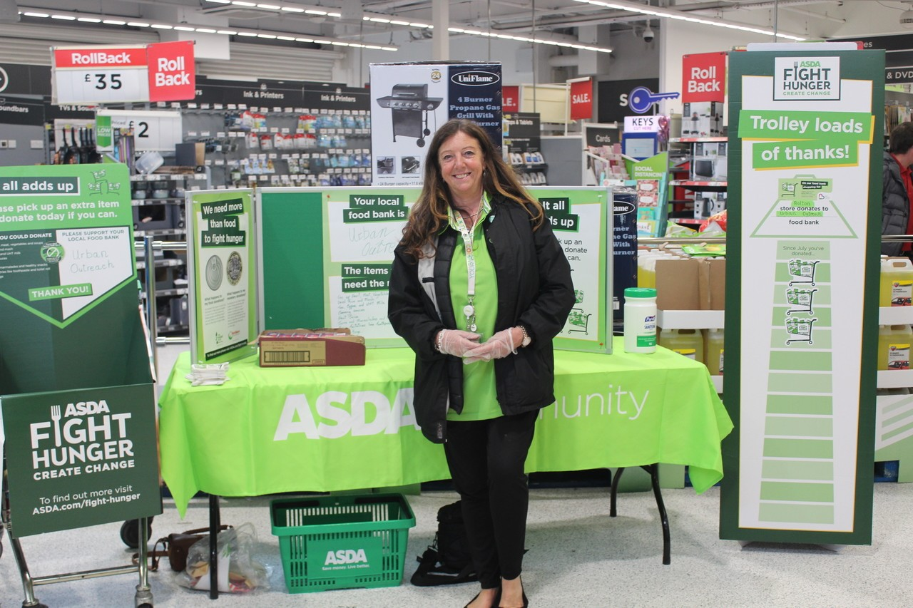 Fight Hunger Create Change support  | Asda Bolton