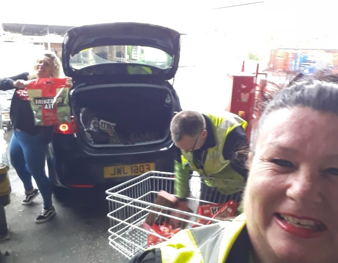 Supporting our local NHS hospital with donations. | Asda Peterborough