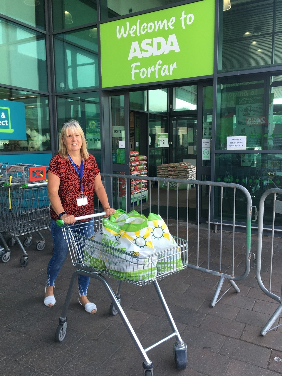 Support for Angus Young Carers | Asda Forfar