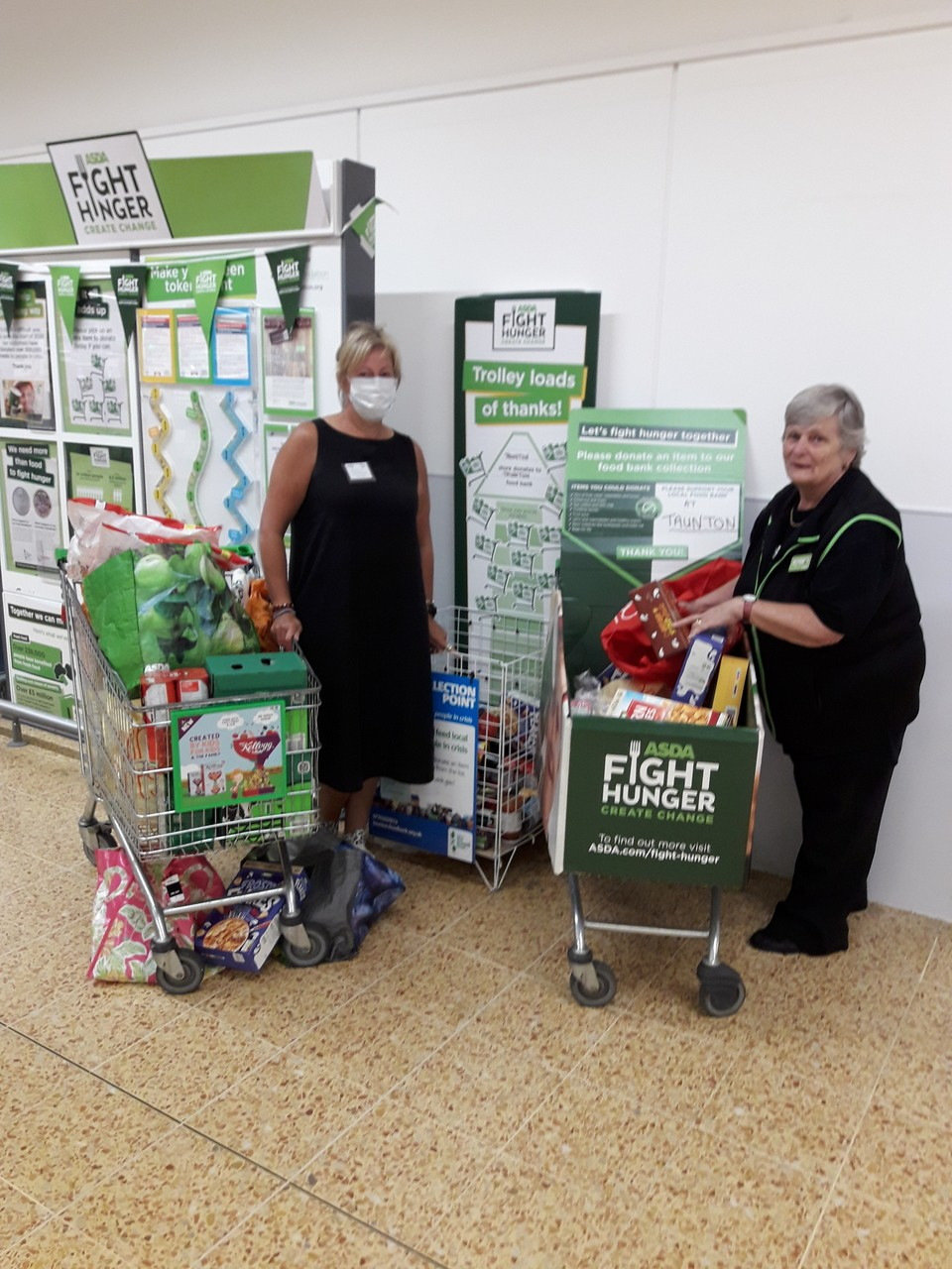 Taunton Foodbank donations | Asda Taunton