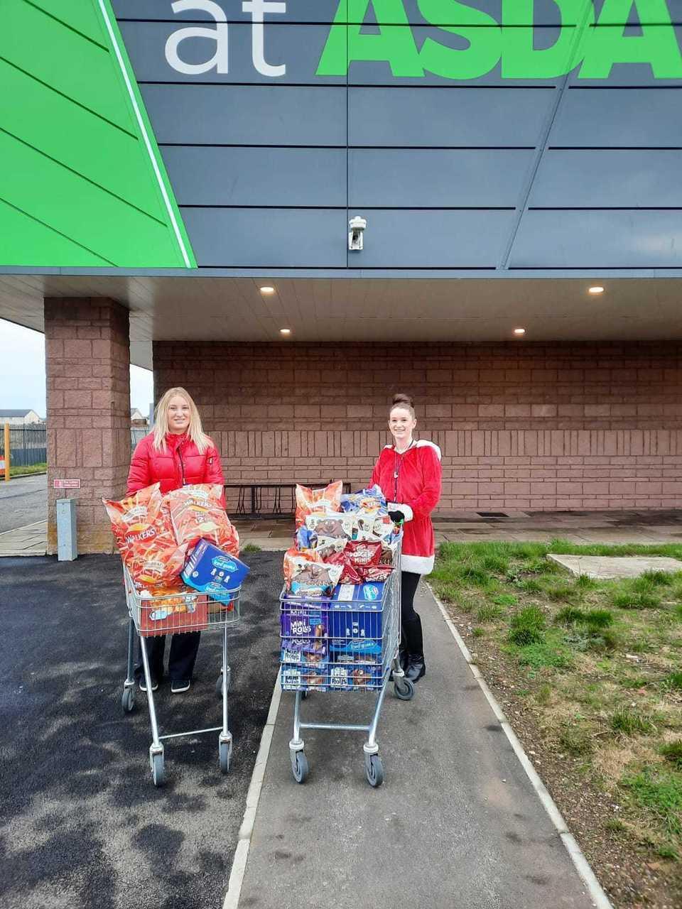 Donations to residents | Asda Peterhead