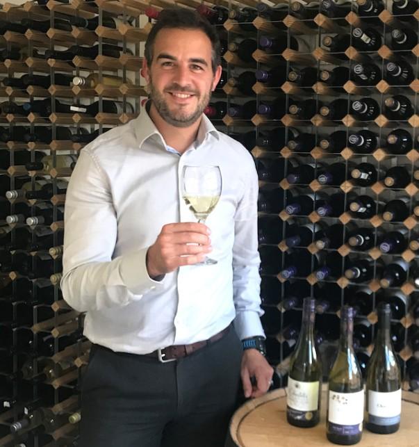Asda wine buyer Ed Betts tries some Chardonnay