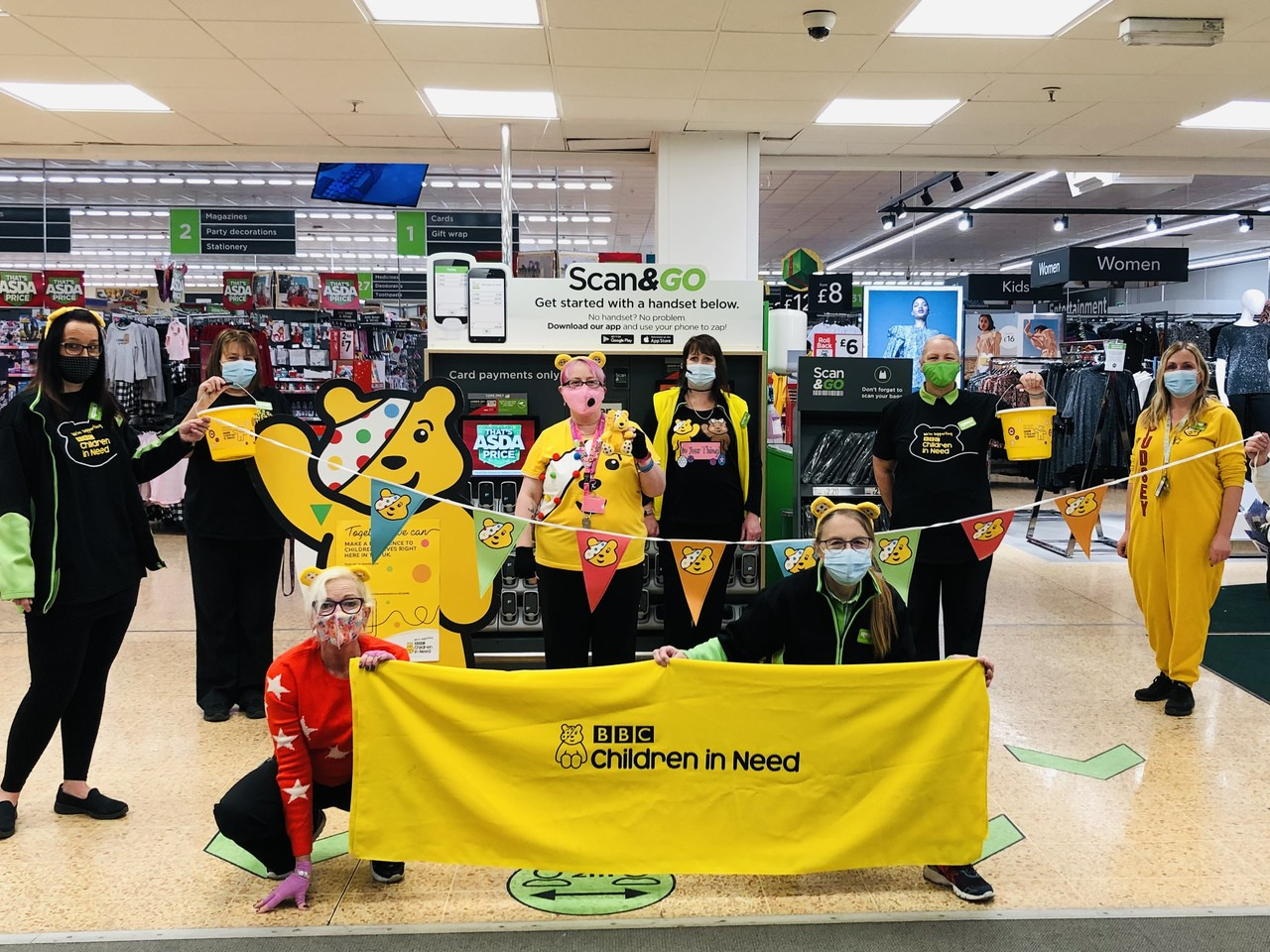 Dressing up for Children in Need | Asda Waterlooville