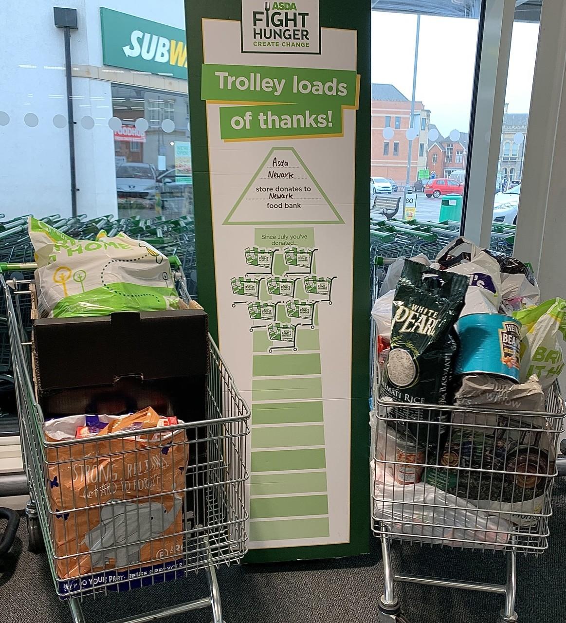 Newark Foodbank | Asda Newark