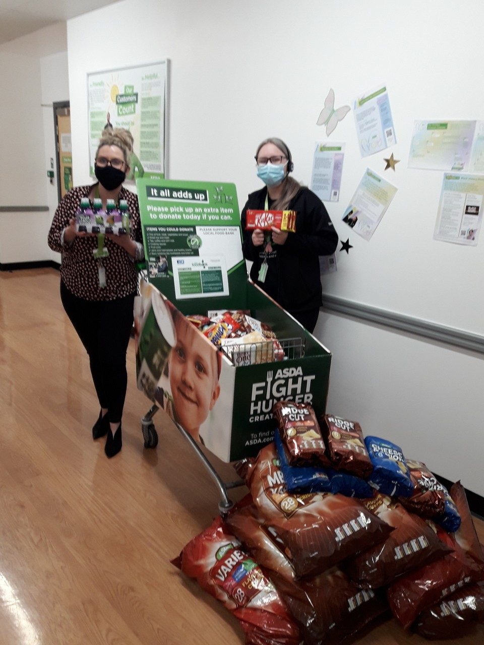 Supporting free school meals | Asda Swinton
