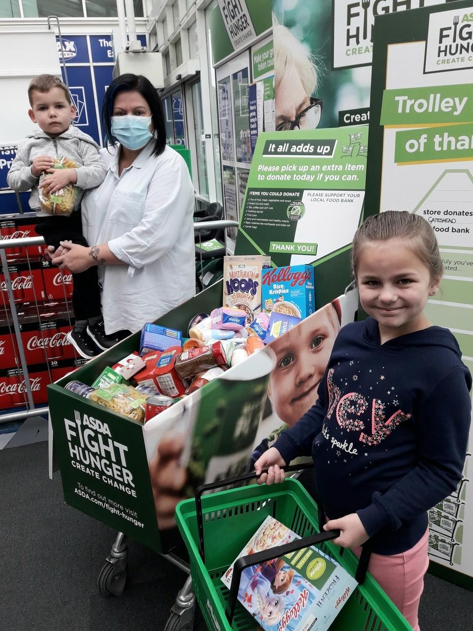 Fight Hunger Create Change | Asda Gateshead