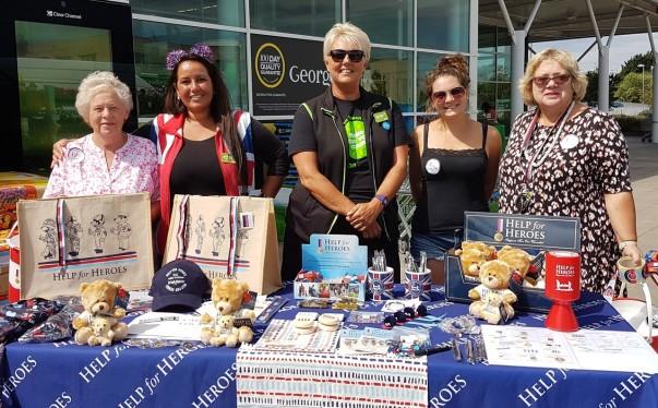 Help for Heroes at Asda Cheltenham