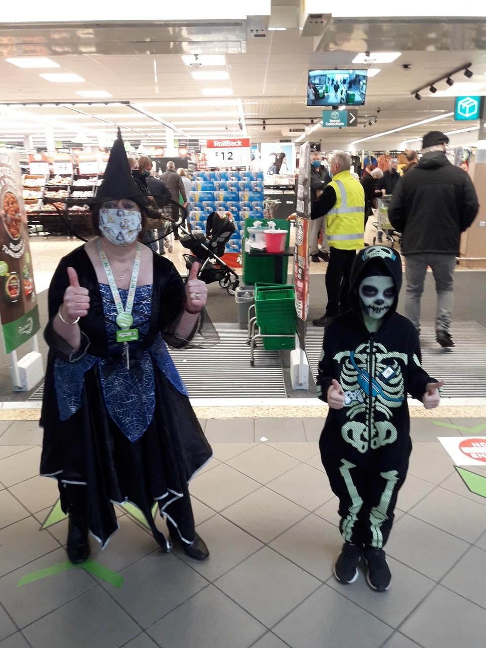 Halloween fun and games | Asda Cramlington