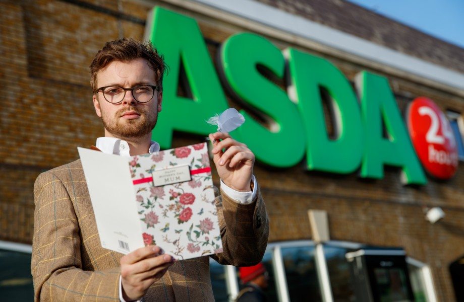 Daniel Piper our Writer in Residence at Asda Clapham Junction