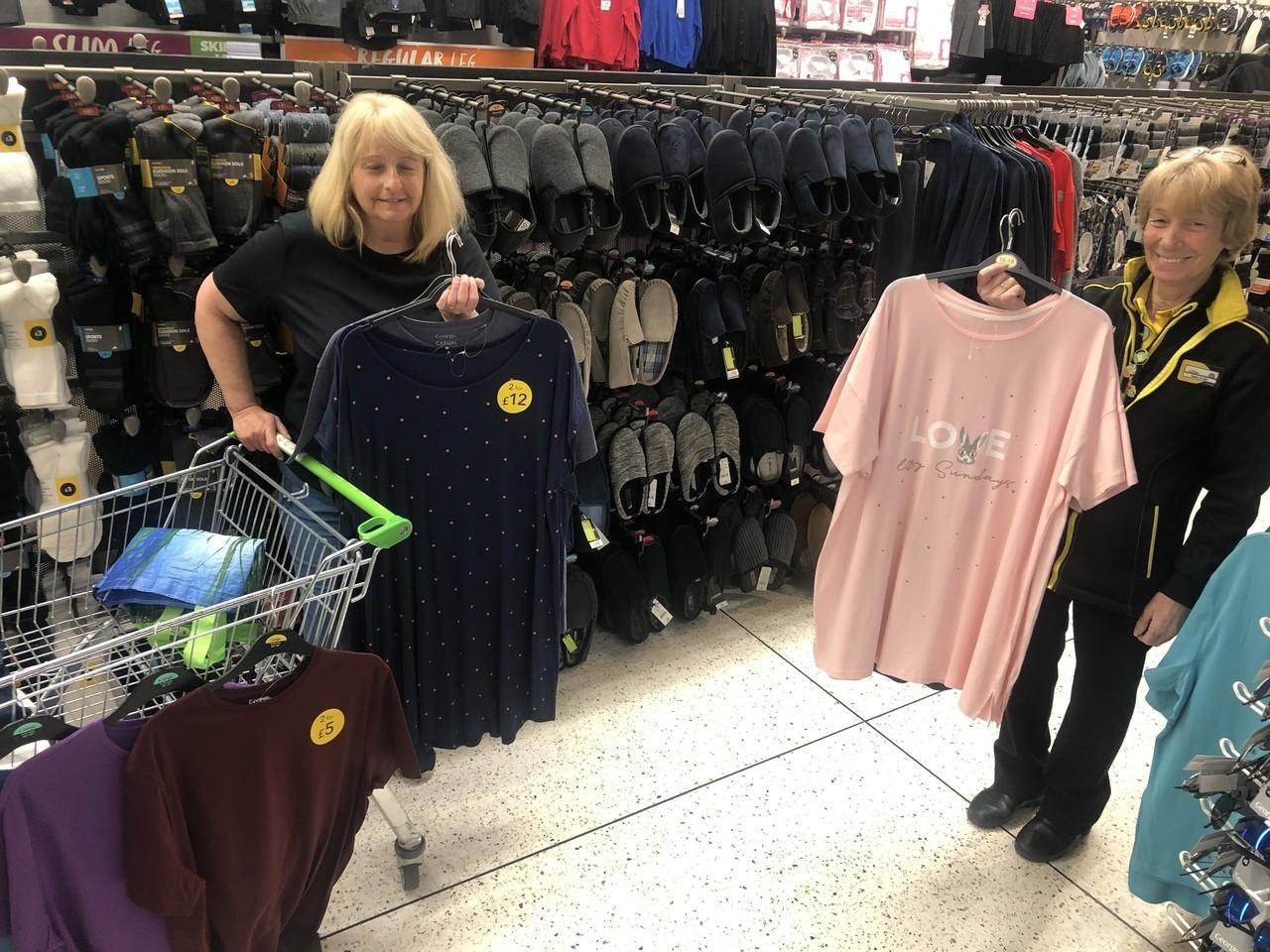 Nightwear donation for local hospital | Asda Stenhousemuir