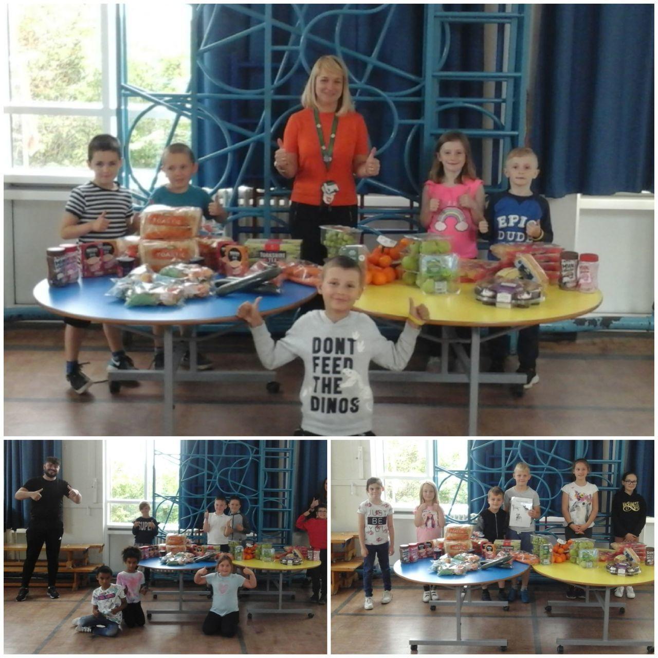 Hillside Primary School Ipswich donation | Asda Ipswich Stoke Park