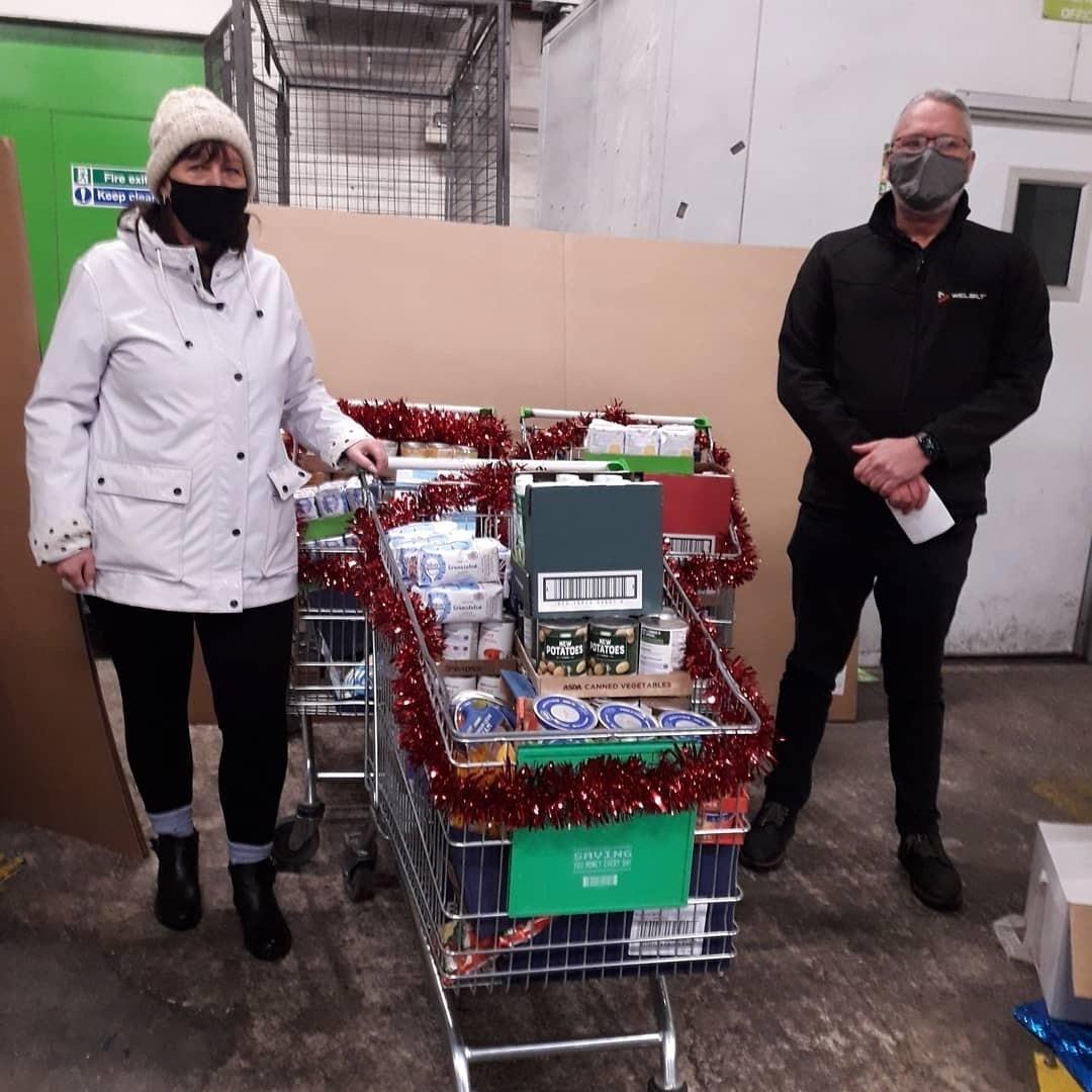 Food bank donation | Asda Chapeltown