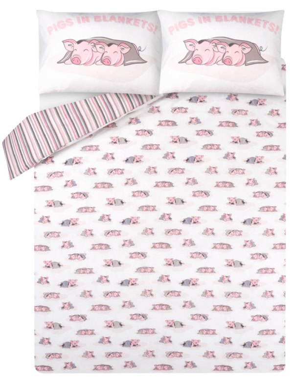 Pigs in Blankets bedding