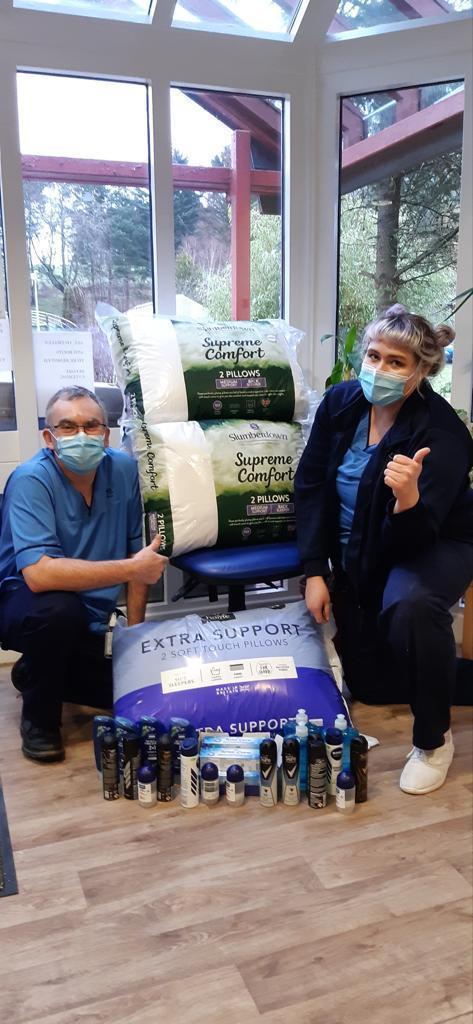 Hospital donation | Asda Dundee Kirkton