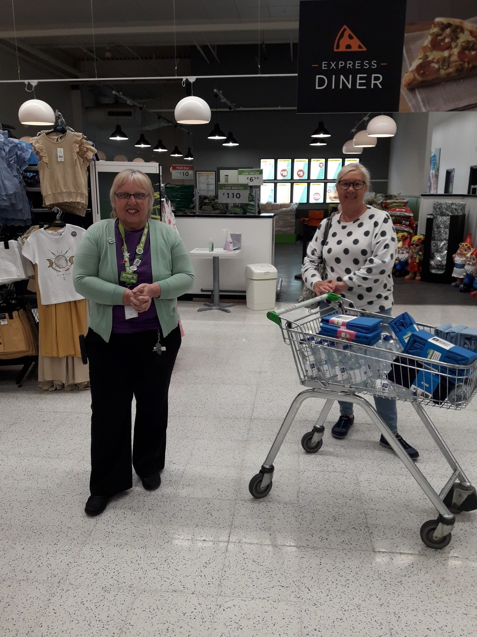 Donation of sheets and pillow covers  | Asda Thornaby