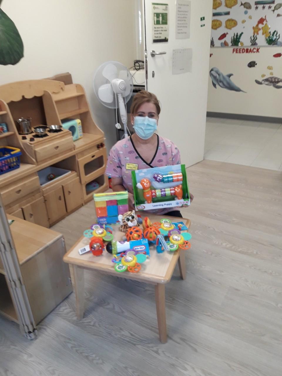 Toys for the children's ward | Asda Ashford