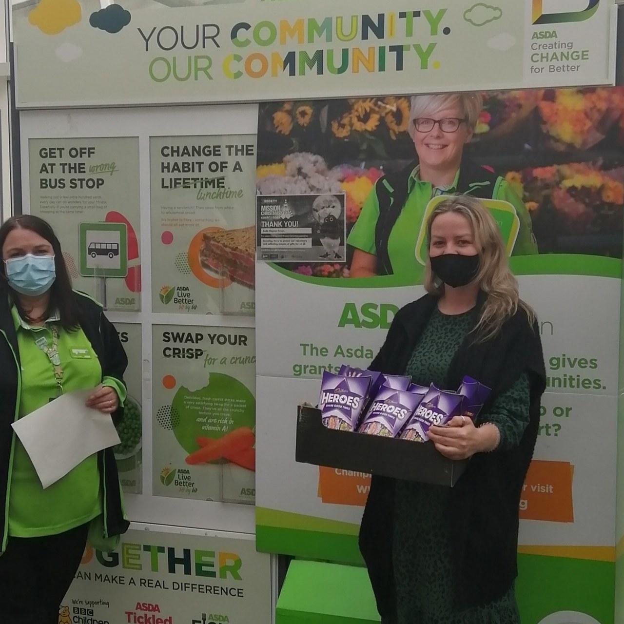 Brindle Gregson Lane Primary School's PTFA donation | Asda Clayton Green
