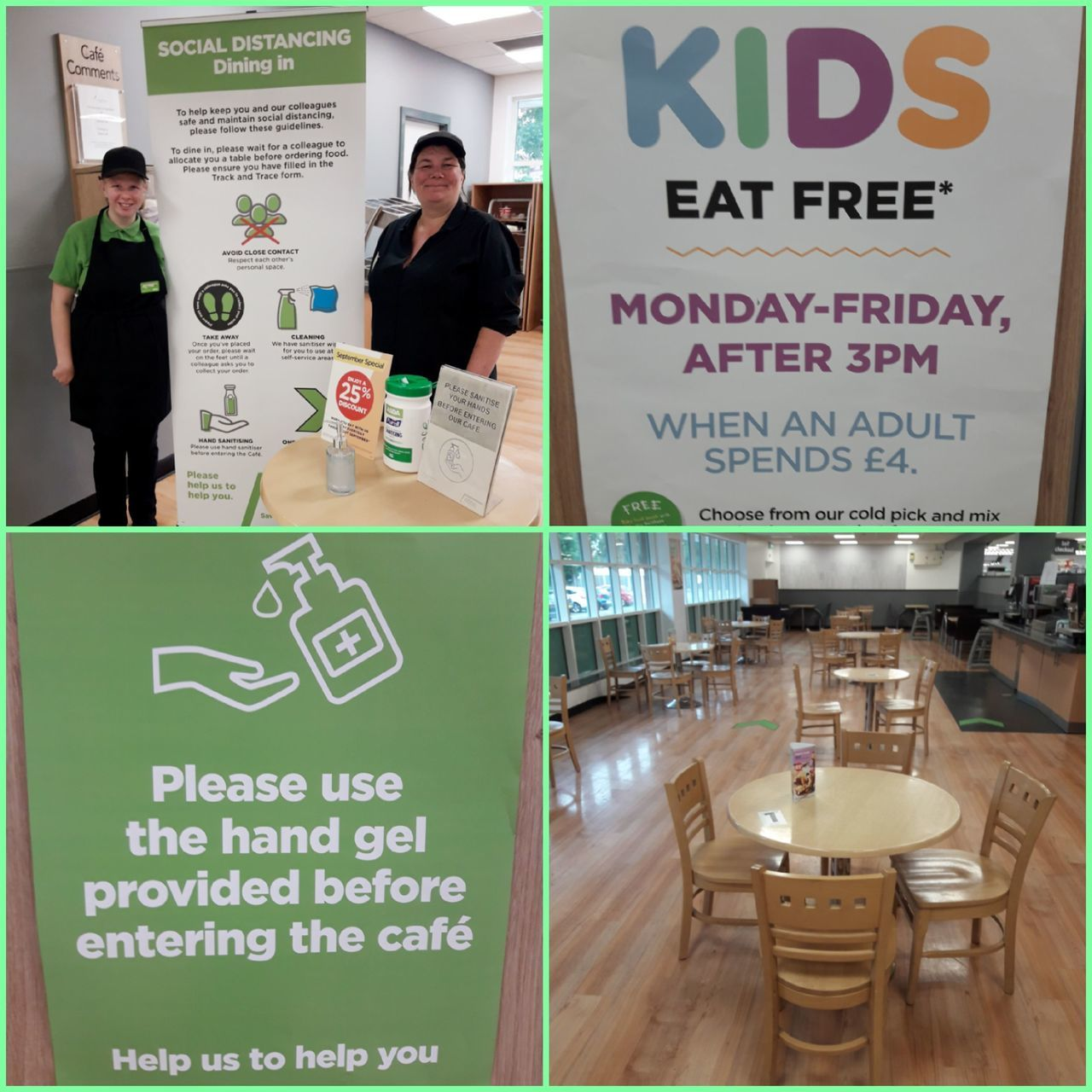 Our customer cafe is now open | Asda Gosforth