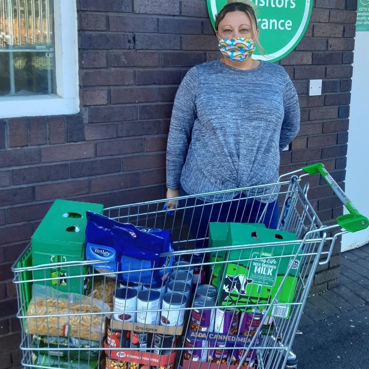 Food parcels for isolating nurses | Asda Wolstanton