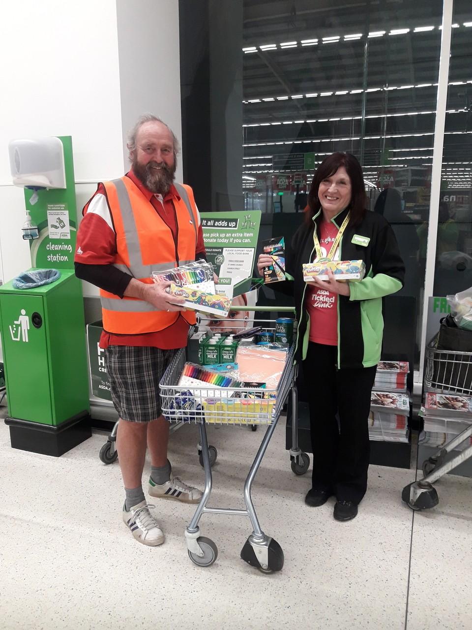 Crafts for food bank | Asda Poole