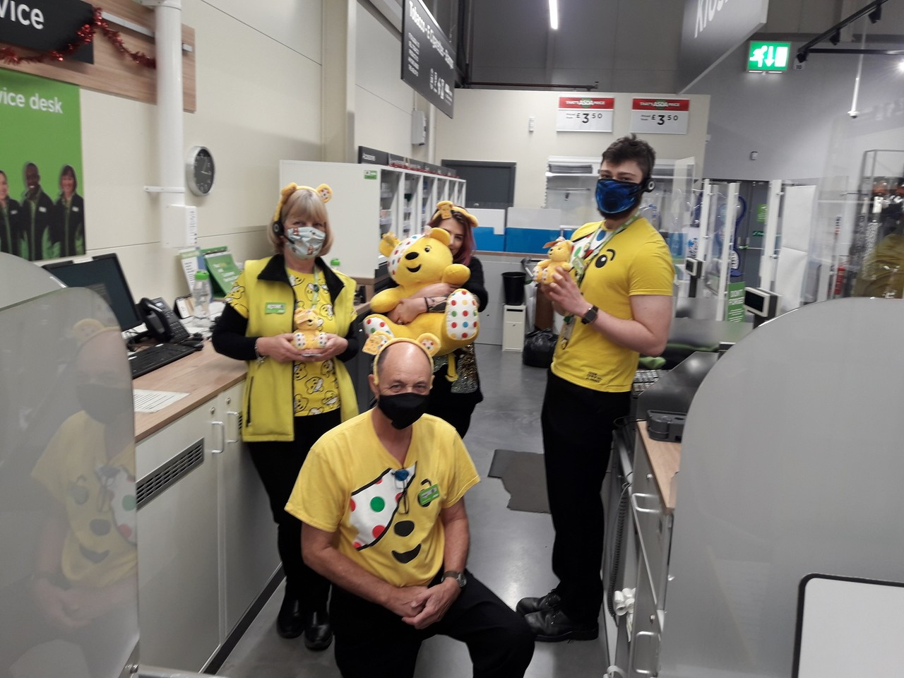 Dress up for CIN Barnstaple  | Asda Barnstaple