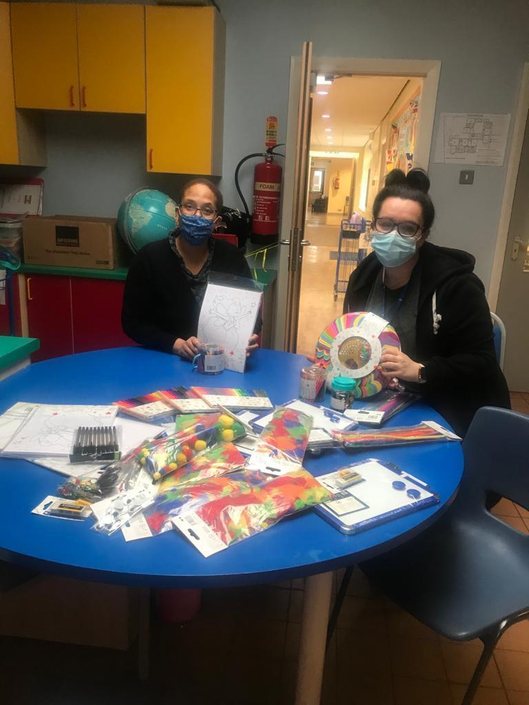 Arts and crafts for local schools | Asda Southport