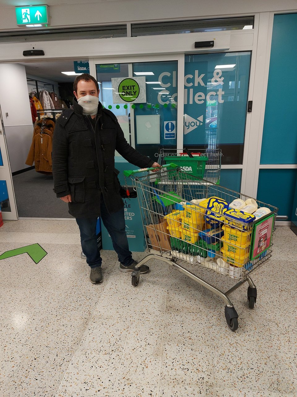 Urban Outreach donation | Asda Farnworth