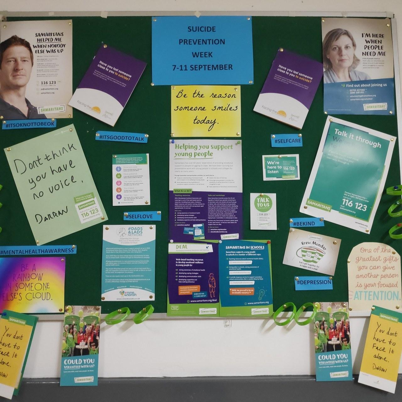 Suicide Prevention Week support | Asda Watford