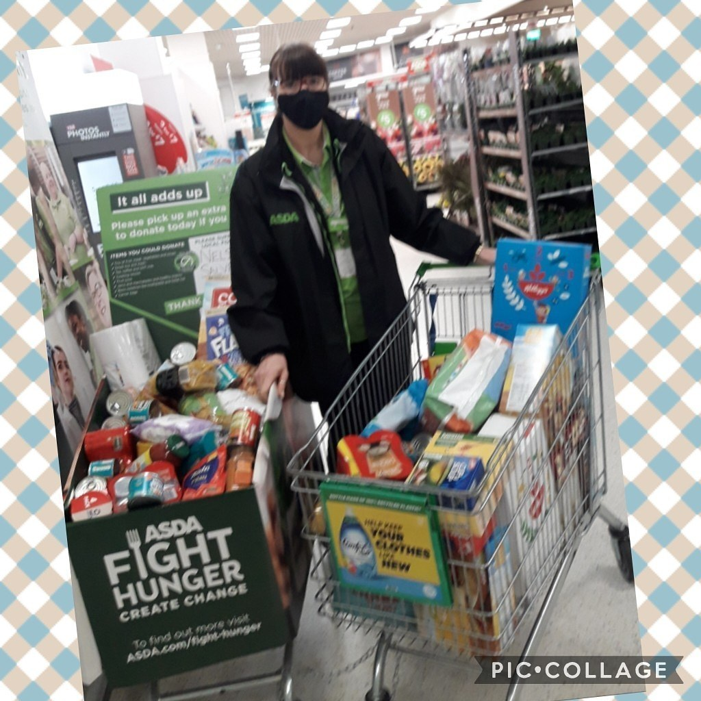 A fantastic week for our Salvation Army Foodbank | Asda Colne