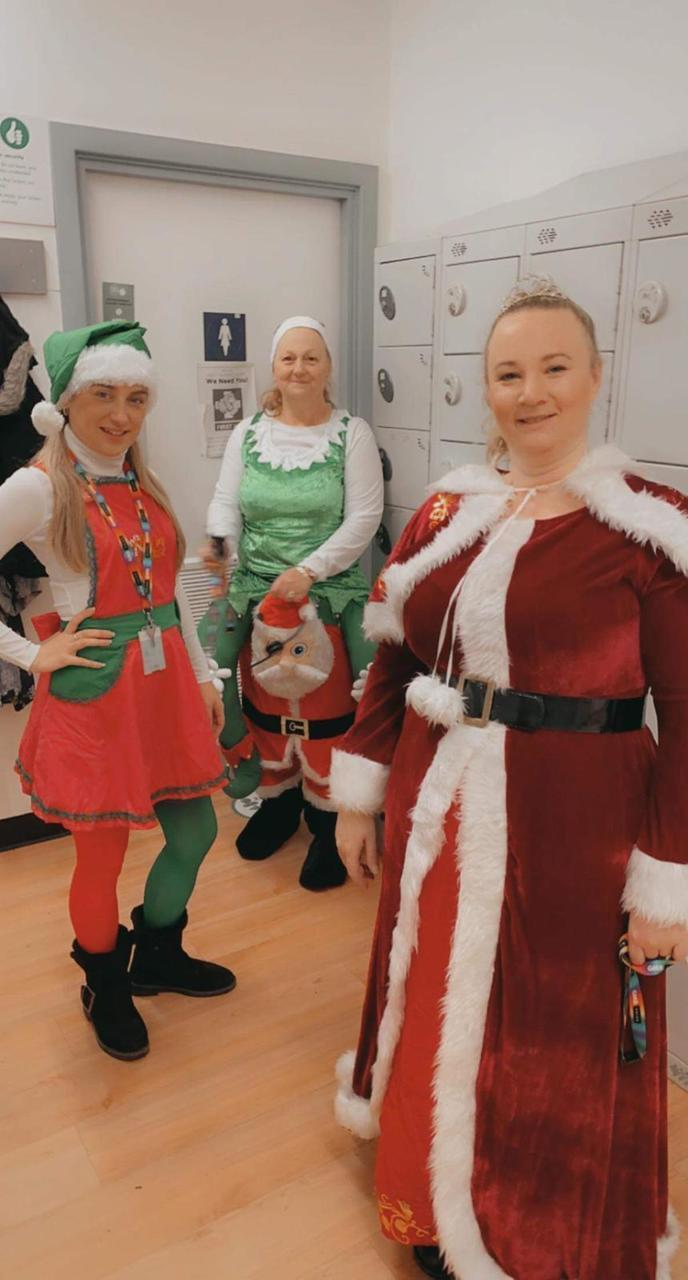 Christmas at Asda Pillgwenlly | Asda Newport Pillgwenlly