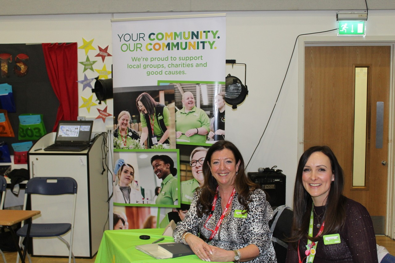 Bolton and Burnden Park Colleagues supporting St Catherine's Academy Careers event | Asda Bolton