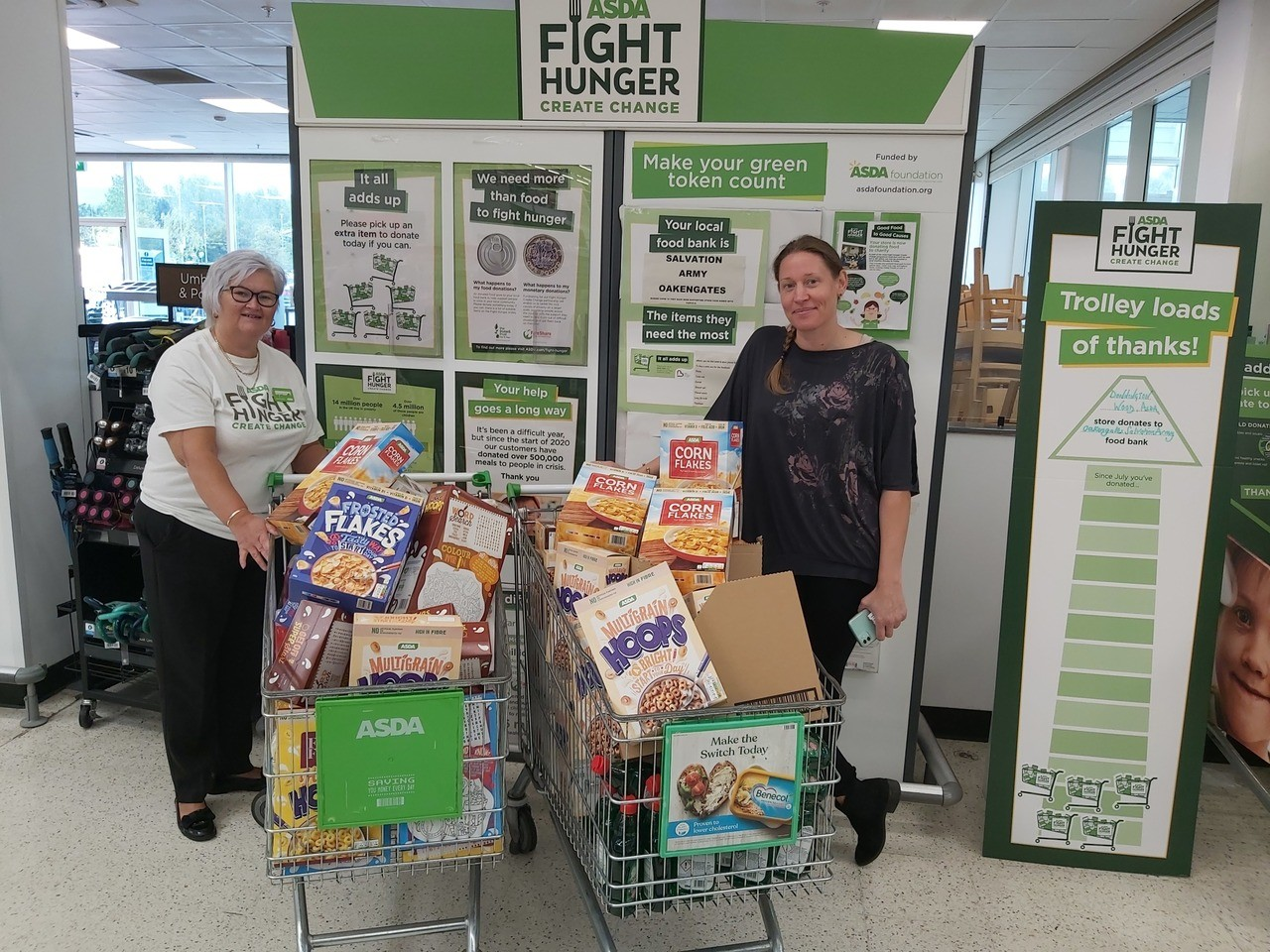 Fight hunger | Asda Donnington Wood
