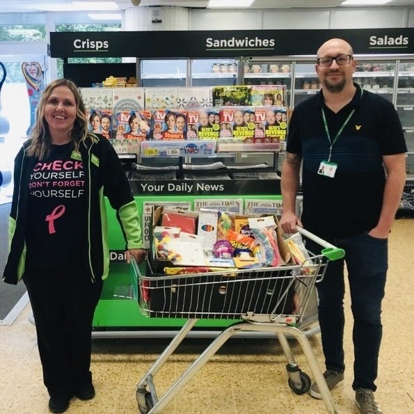 Donation to Woodcroft Primary School | Asda Waterlooville