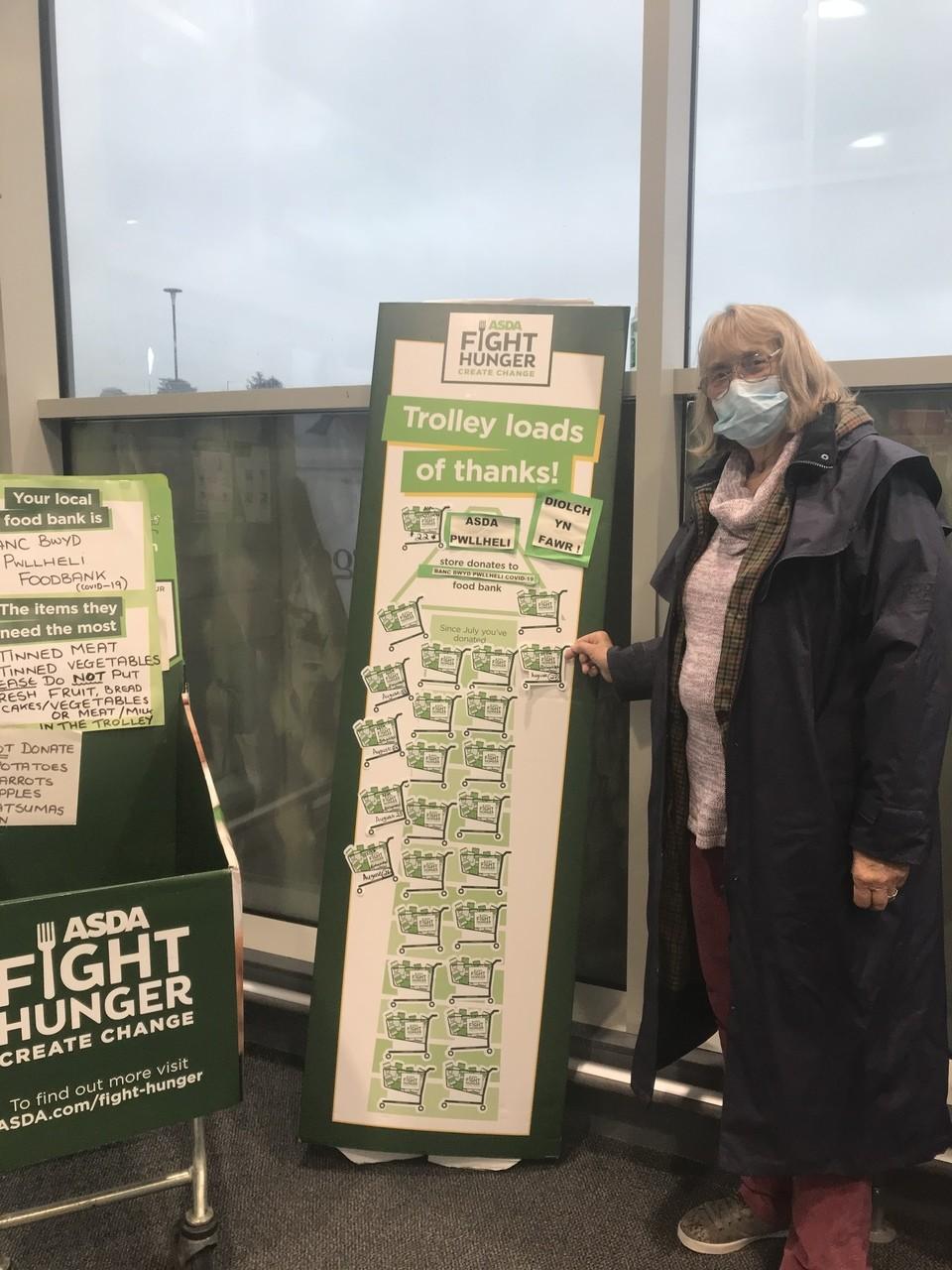 Foodbank support | Asda Pwllheli