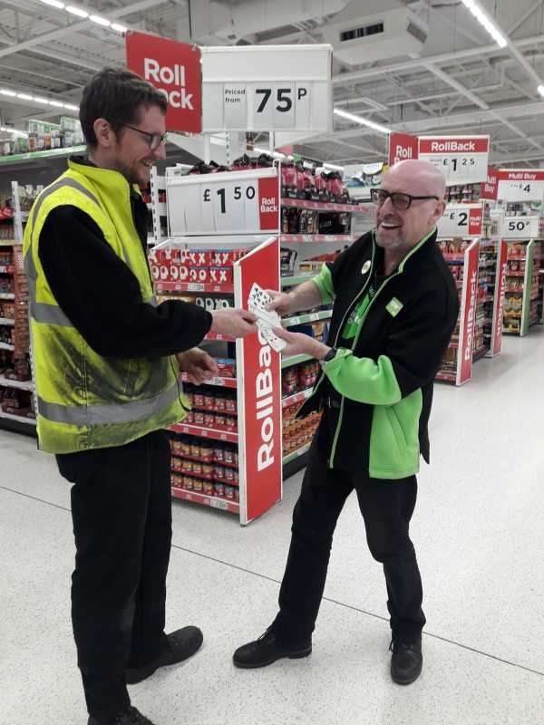 Anton Binder from Asda Brighton Marina is a magician in his spare time