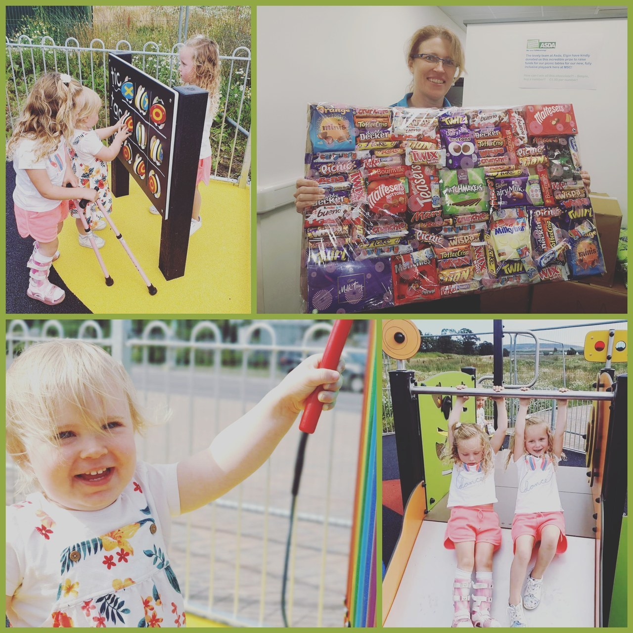 Moray sports centre donation   Asda Elgin