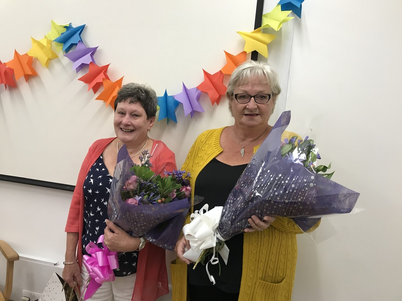 Happy retirement to popular George colleagues Ellen and Shona  | Asda Ayr