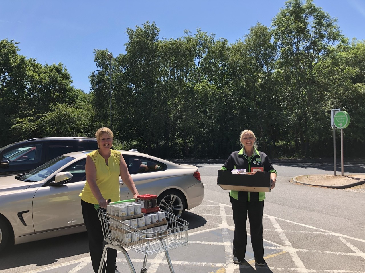 Revive Centre Charity donation | Asda Derby
