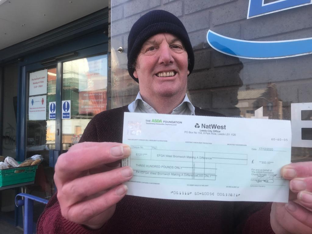 £300 foodbank grant | Asda Great Bridge