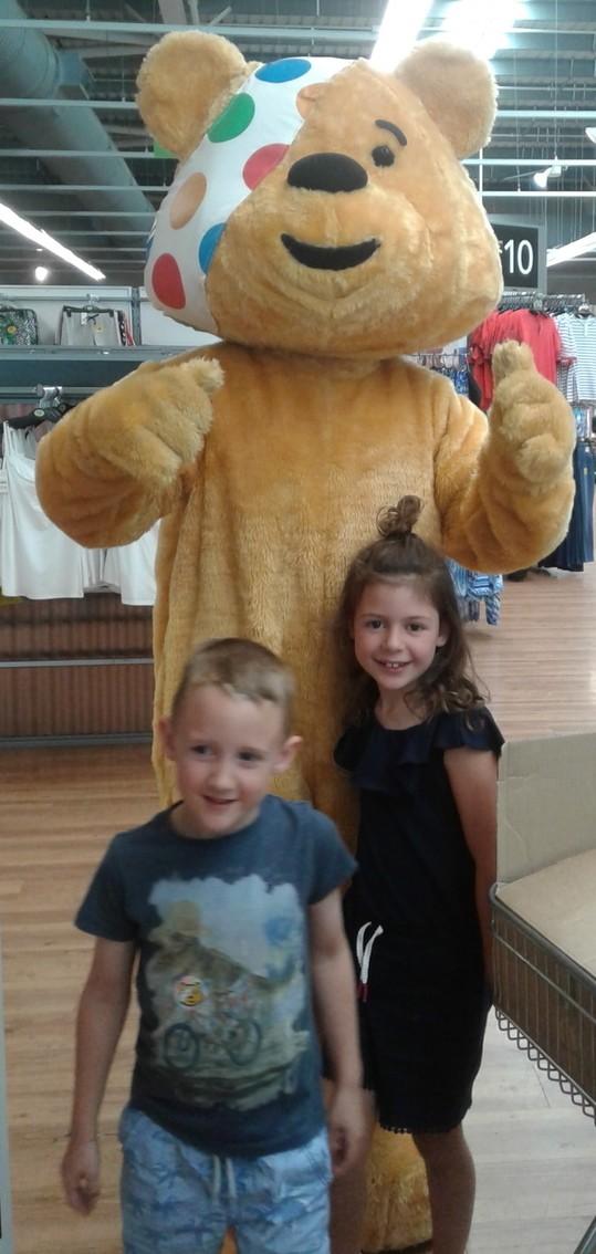 BBC Children in Need at Asda Bodmin